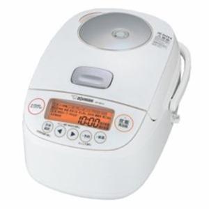 象印 圧力IH炊飯器 5.5合炊き ホワイト NP-BK10-WA - 拡大画像