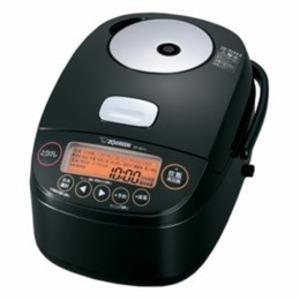 象印 圧力IH炊飯器 5.5合炊き ブラック NP-BK10-BA - 拡大画像