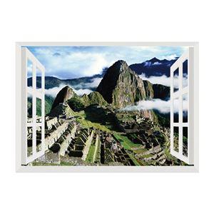 昭プラ お風呂のポスター 世界遺産 マチュピチュ 8100442 - 拡大画像