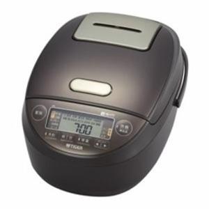 タイガー 炊飯器 圧力IH炊飯器 炊きたて 5.5合炊き ブラウン JPK-G100T - 拡大画像