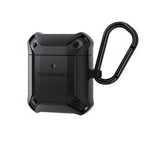 エレコム 無線充電AirPods対応アクセサリ ZEROSHOCKケース ブラック AVA-APZEROBK - 拡大画像