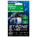 エレコム デジカメ液晶保護ガラスフィルム/高光沢/AR/極薄/FUJIFILM X-T100 DFL-FXT100GG02