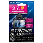 エレコム デジカメ液晶保護ガラスフィルム/2.7インチ(4:3)/高光沢/AR/極薄 DFL-H2743GG02