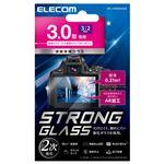 エレコム デジカメ液晶保護ガラスフィルム/3.0インチ(3:2)/高光沢/AR/極薄 DFL-H3032GG02