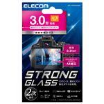 エレコム デジカメ液晶保護ガラスフィルム/3.0インチ(4:3)/高光沢/AR/極薄 DFL-H3043GG02