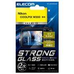 エレコム デジカメ液晶保護ガラスフィルム/高光沢/AR/極薄/Nikon COOLPIX W300 DFL-NCW300GG02