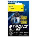 エレコム デジカメ液晶保護ガラスフィルム/高光沢/AR/極薄/Nikon D3500 DFL-ND3500GG02