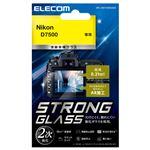 エレコム デジカメ液晶保護ガラスフィルム/高光沢/AR/極薄/Nikon D7500 DFL-ND7500GG02