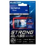エレコム デジカメ液晶保護ガラスフィルム/高光沢/AR/極薄/OLYMPUS TG-6 DFL-OTG6GG02