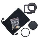 エツミ GoPro HERO7対応 アクションメタルプロテクターカバー ブラック VE-2221