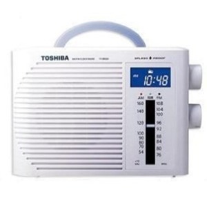 TOSHIBA 防水ラジオ TY-BR30F-W - 拡大画像
