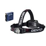 GENTOS Gシリーズ充電ヘッドライト+専用充電池セット GH-001RG+GA-02
