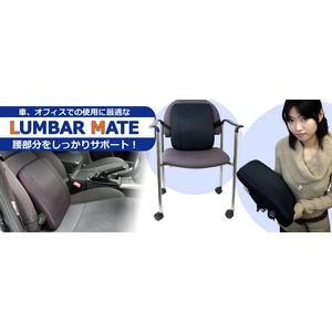 サンコー ラクラクな腰サポートグッズ LUMBAR MATE - 拡大画像