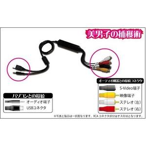 AREA(エアリア) 美男子の捕獲術 SD-USB2CUP - 拡大画像