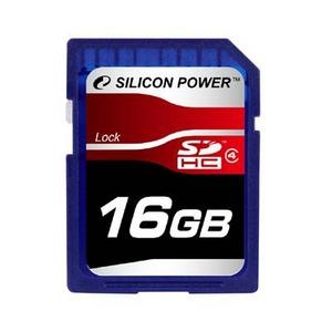SILICON POWER(シリコンパワー) SDカード SDHC Class4 16GB - 拡大画像