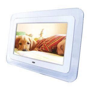 8.5インチ液晶デジタルフォトフレーム DS-DA85N100 ホワイト - 拡大画像