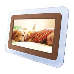 8.5インチ液晶デジタルフォトフレーム DS-DA85N100 ブラウン - 拡大画像