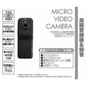 Mitsumaru Japan(ミツマルジャパン) マイクロビデオカメラ UV-021MG メタリックグレー - 拡大画像