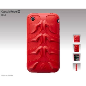 SwicthEasy CapsuleRebel M for iPhone 3GS/3G Red - 拡大画像