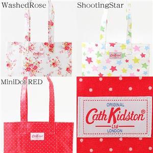 Cath Kidson オイルクロスNEWラージャーサイズトブックバッグ MiniDot RED/209045 - 拡大画像