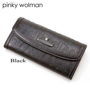 Pinky Wolman(ピンキーウォルマン) 長財布 403 Black - 拡大画像