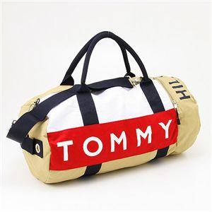 TOMMY HILFIGER(トミーヒルフィガー) ボストンバッグ 390532 Beige - 拡大画像
