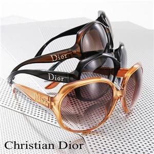 Christian Dior サングラス GLOSSY1-KIF/CC/ブラウン×チョコブラウン - 拡大画像