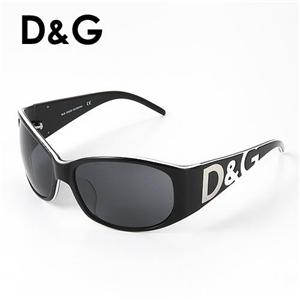 D&G サングラス Asian Fitting 3008A-547/87/スモーク×ブラック - 拡大画像