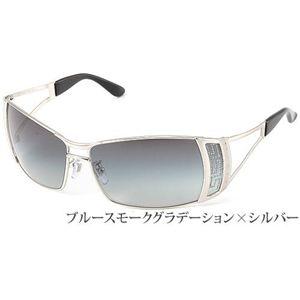 VERSACE(ベルサーチ) サングラス Asian Fitting 2059BA-1000/8G/ブルースモークグラデーション×シルバー - 拡大画像