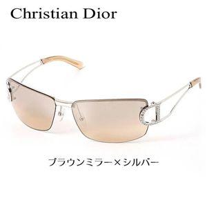 Christian Dior(クリスチャンディオール) サングラス Asian Fitting DIORLY1/J1-YB7/AK ブラウンミラー×シルバー - 拡大画像