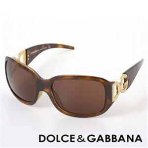 DOLCE&GABBANA(ドルチェ&ガッバーナ)サングラス 6017B-502/73/ブラウン×ベッコウ&ゴールド - 拡大画像