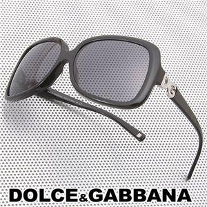 DOLCE&GABBANA(ドルチェ&ガッバーナ) サングラス/スモーク×ブラック - 拡大画像