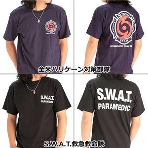 米国着用禁止Tシャツ 全米ハリケーン対策部隊 M - 拡大画像
