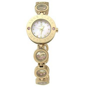 ANNE CLARK(アンクラーク) 腕時計 天然1Pダイヤモンド ムービングカラーストン レディース ブレスウォッチ AT1008-17PG - 拡大画像