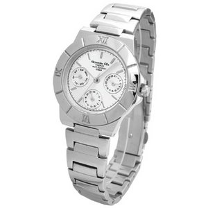 Alessandra Olla アレサンドラオーラ 腕時計 マルチファンクション レディースウォッチ AO-900-2 シルバー