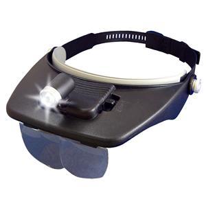LEDヘッドライトルーペ - 拡大画像