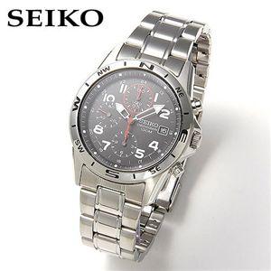 SEIKO(セイコー) ミリタリー・クロノグラフ SND375P - 拡大画像