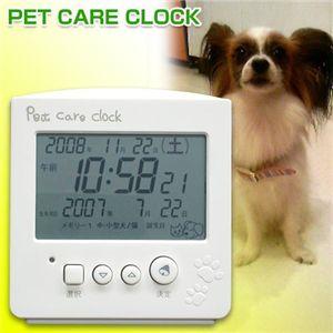 SEGA TOYS(セガトイズ) PET CARE CLOCK(ペットケアクロック) ペットの人年齢を表示 【犬・ネコ用】 - 拡大画像