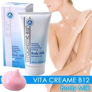 ビタクリーム B12 ビタボディ 150ml (ボディミルク) 日本正規品 - 拡大画像