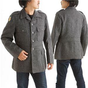 デンマーク軍放出ウールジャケット デットストック MM-11071 104《M〜L相当》 - 拡大画像