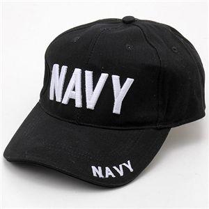 米軍 ベースボールキャップ&USSキャップ NAVY - 拡大画像
