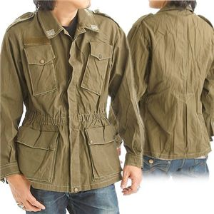 【中古】 イタリア軍放出 コンバットジャケット Mサイズ - 拡大画像