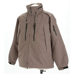ECWC S PCUジャケット グレー Lサイズ - 拡大画像