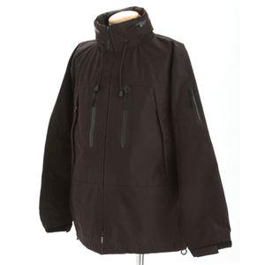 ECWC S PCUジャケット ブラック Lサイズ - 拡大画像