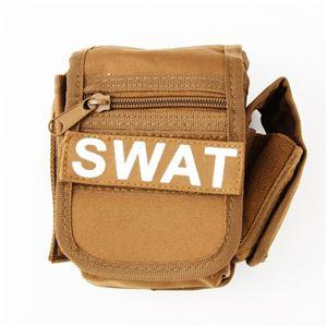 アメリカ SWAT部隊多機能ベルトポーチ 復刻番 コヨーテ ブラウン - 拡大画像