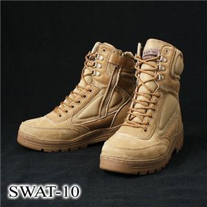 SWAT-10 サイドジッパーブーツ レプリカ 10W(28.0cm) - 拡大画像