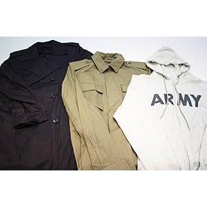 【09-10福袋】ミリタリー3点セット福袋 Lサイズ コート・ジャケット・パーカー - 拡大画像