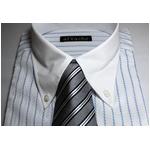 【福袋★柄お任せ】某百貨店仕様ワイシャツ5点&シルクネクタイ5点セット LLサイズ