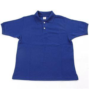 ドライメッシュアクティブ半袖ポロシャツ ロイヤルブルー M - 拡大画像