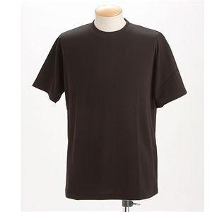 ドライメッシュTシャツ 2枚セット 白+ブラック Lサイズ - 拡大画像